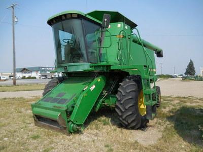 1990 john deere 9500 combine lewiston, mt | machinery pete