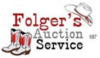 Arp folger s auction service logo