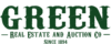 Arp green real estate and auction co. logo