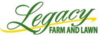 Srp legacy farm and lawn logo