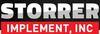 Srp storrer implement logo