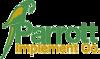 Srp parrott implement logo