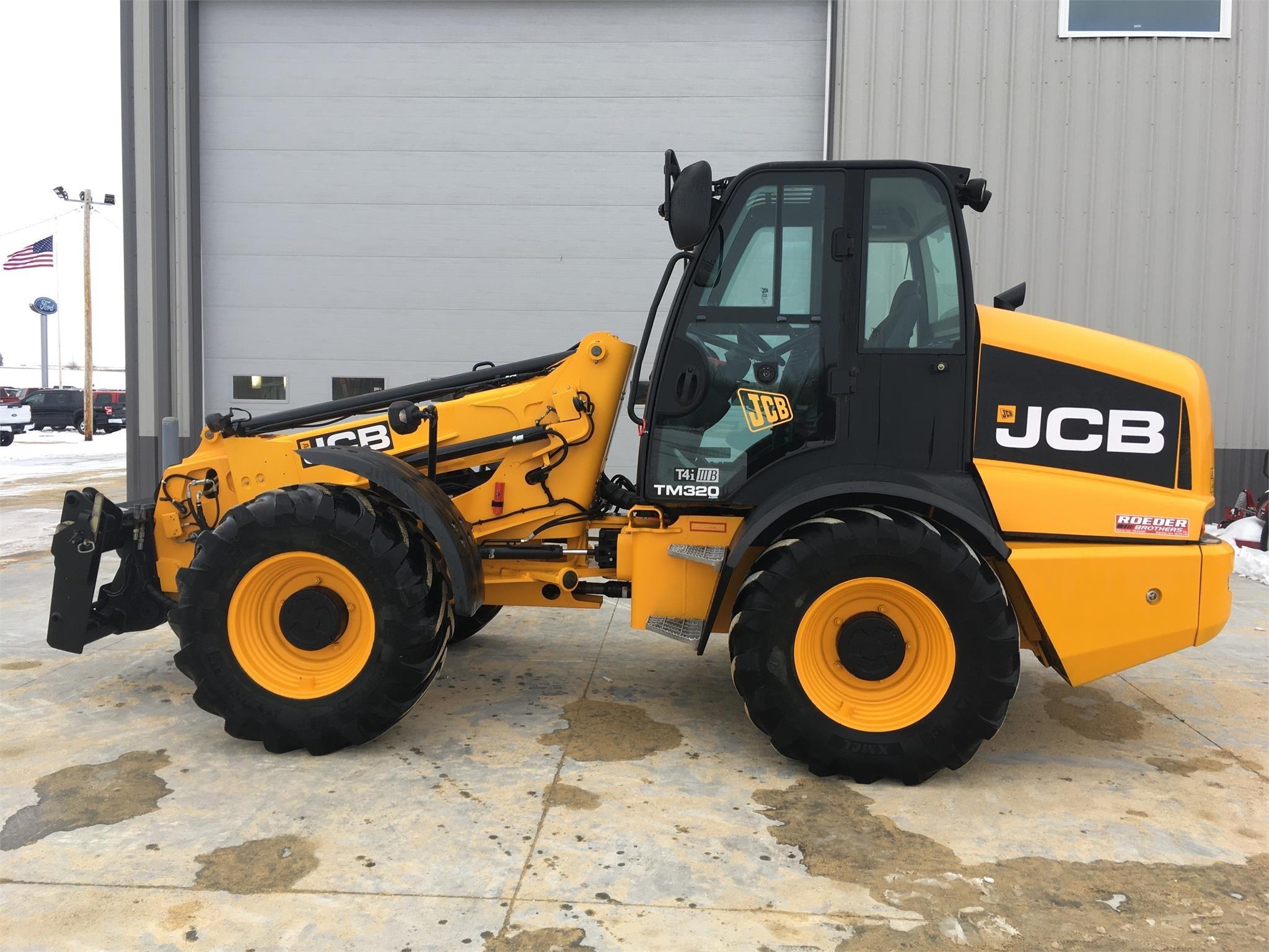 2014 JCB TM320 AGRI Wheel Loader