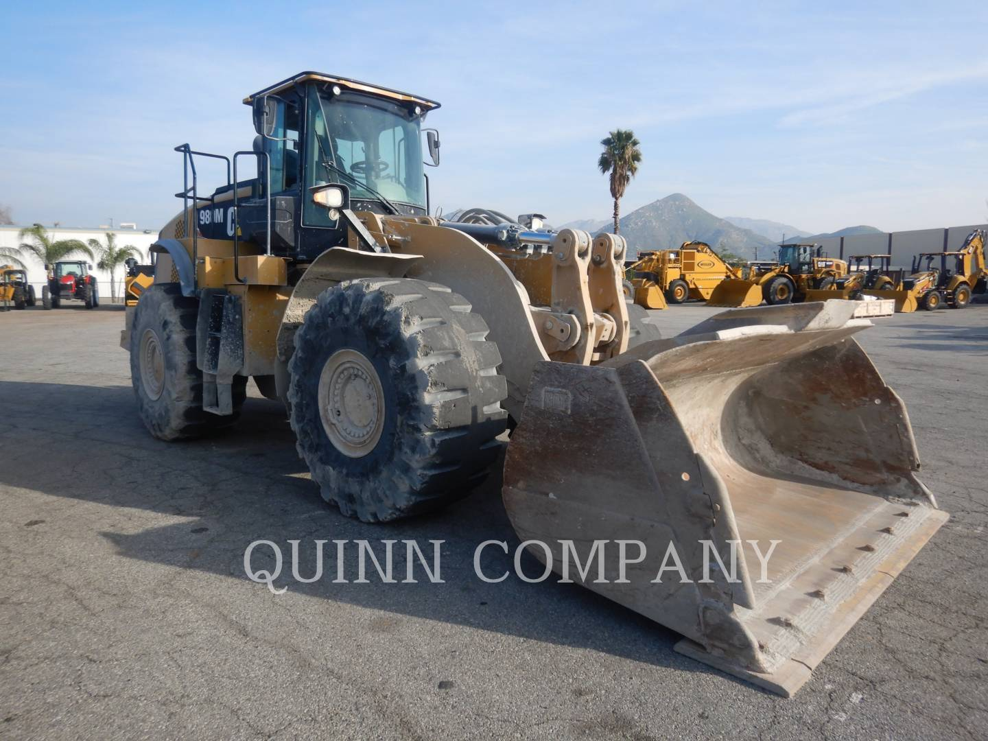 2014 Caterpillar 980M Wheel Loader