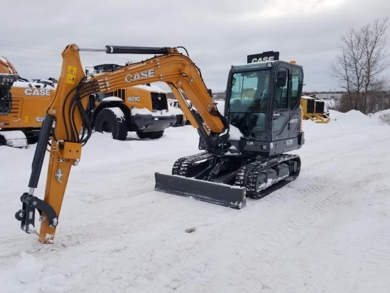2019 Case CX57C Excavators and Mini Excavator