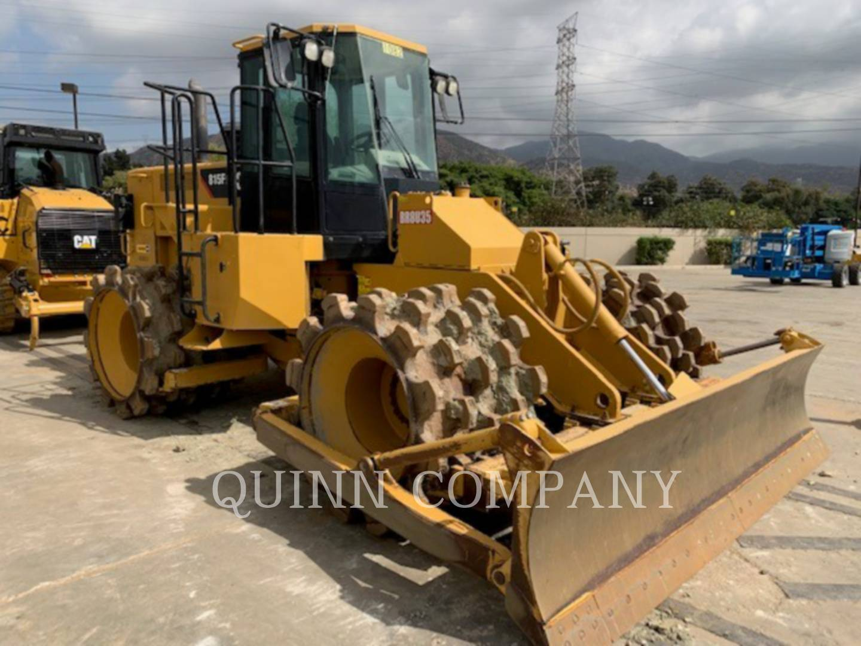 2014 Caterpillar 815FII Compacting and Paving