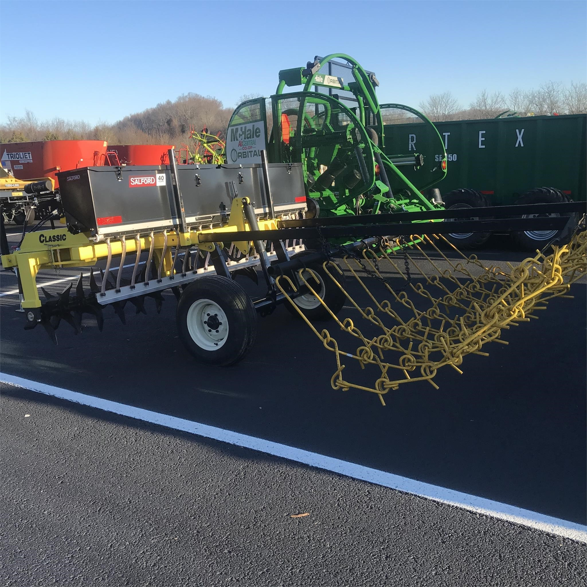 2020 AerWay AWATS-100-AG-4 Drill