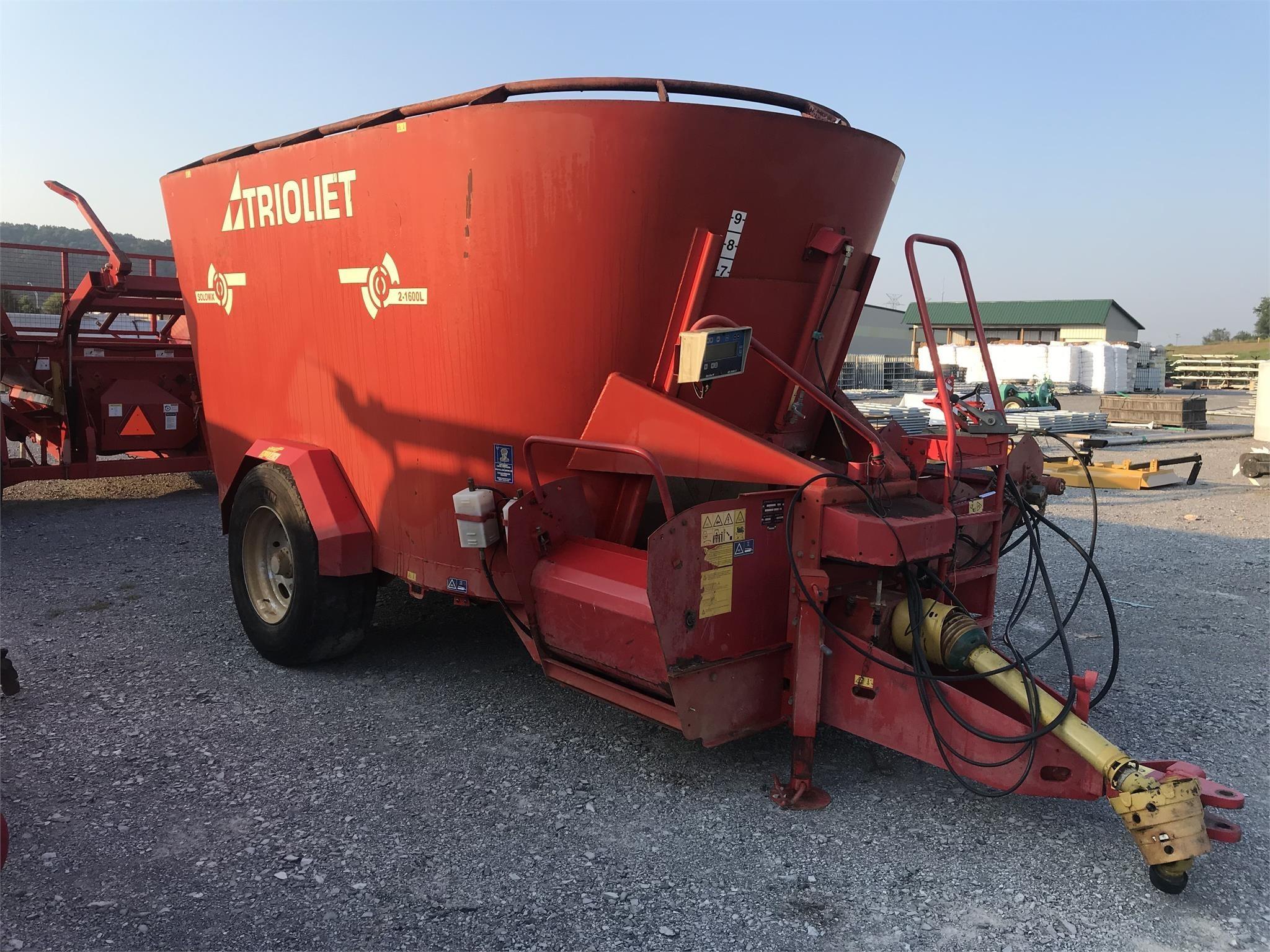 Trioliet SOLOMIX 1600L VLS Feed Wagon
