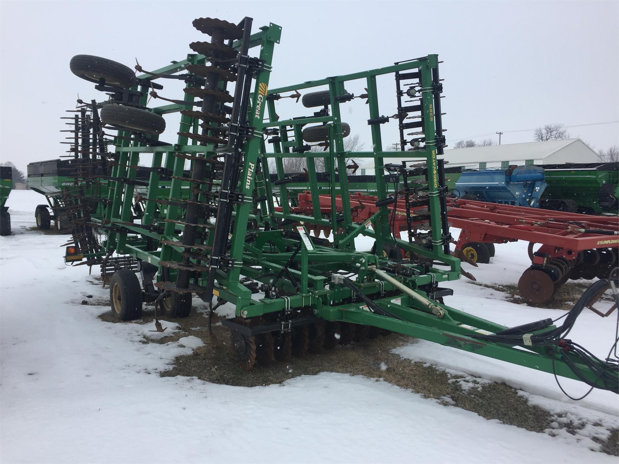 2007 Great Plains 8326DV Soil Finisher