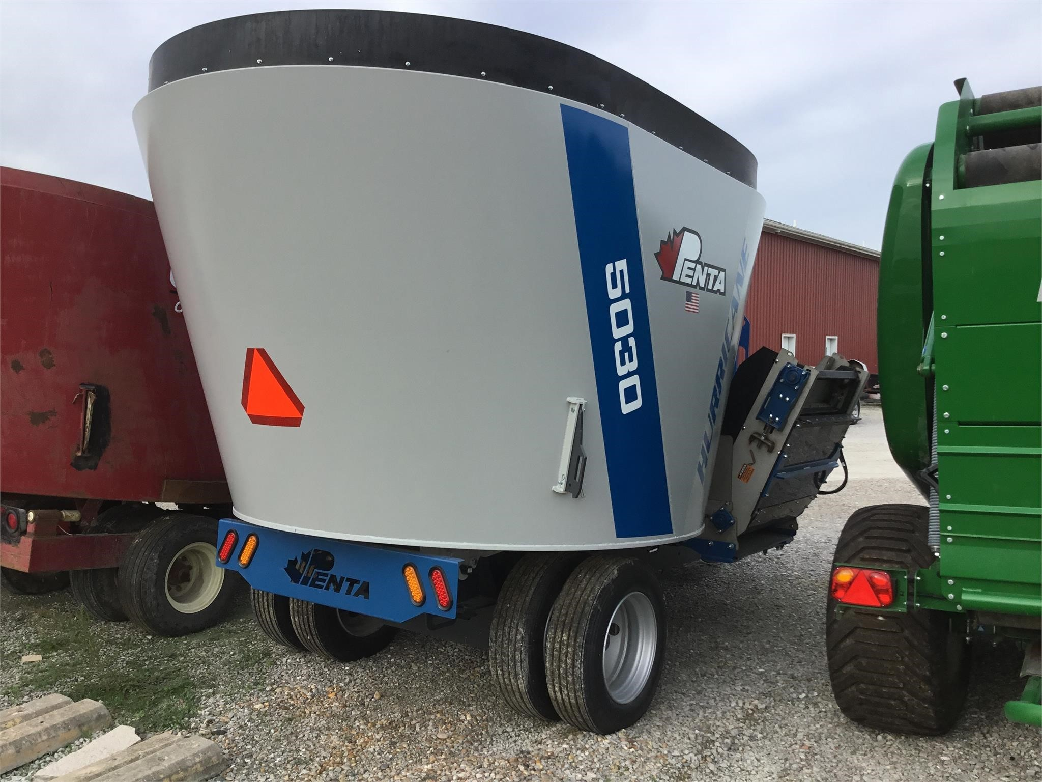 2020 Penta 5030 Grinders and Mixer