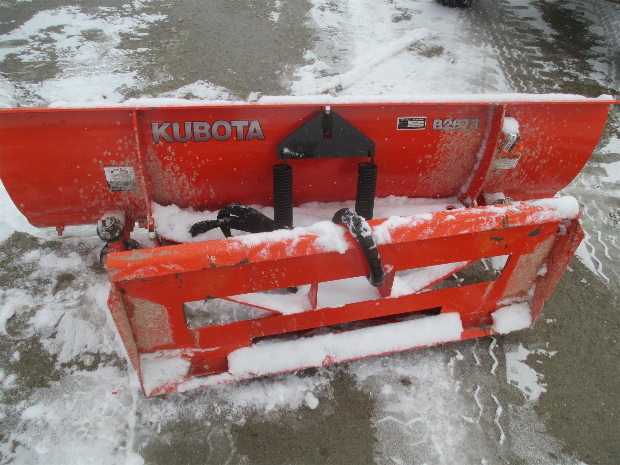 Kubota B2673 Blade