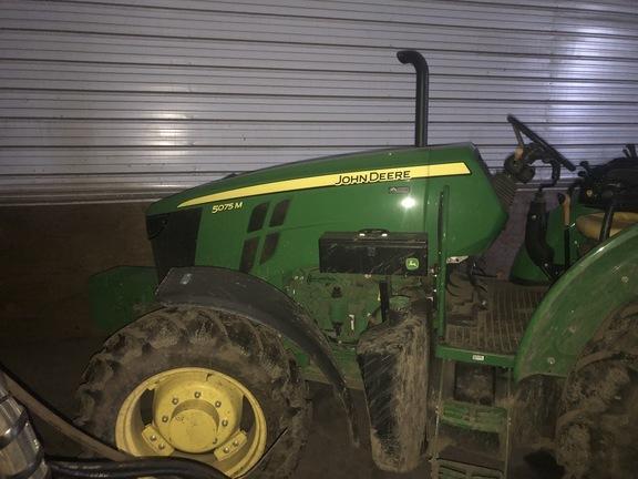 2018 John Deere 5075M Tractor