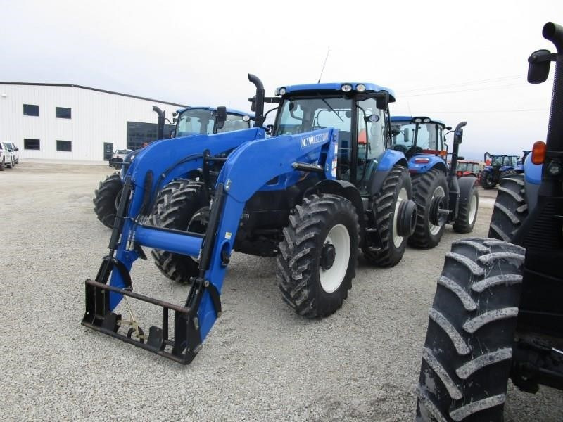 2012 New Holland T6.165 Tractor