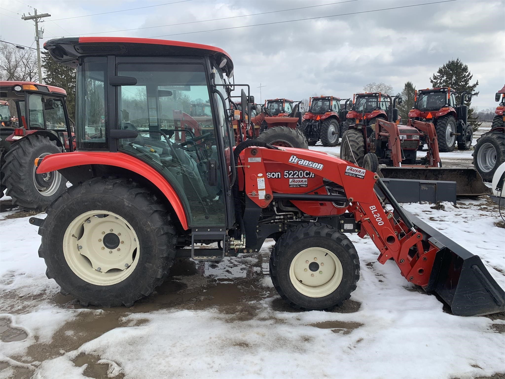 2018 Branson 5220CH Tractor