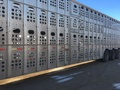 2001 Merritt Cattle pot Livestock Trailer