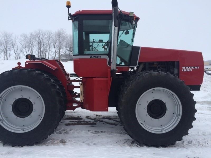 1987 Steiger Wildcat 1000 Tractor