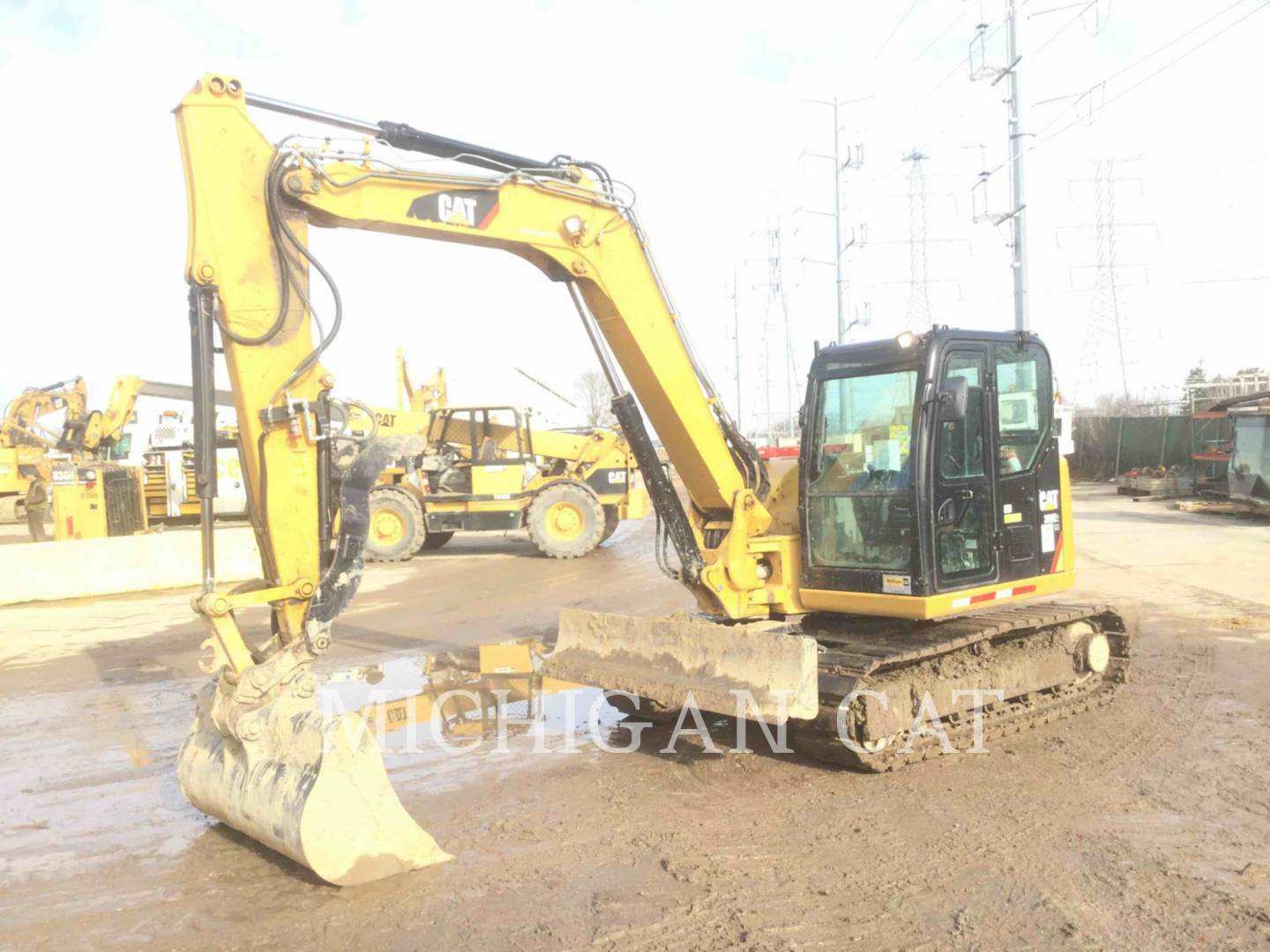 2015 Caterpillar 308E2 Excavators and Mini Excavator
