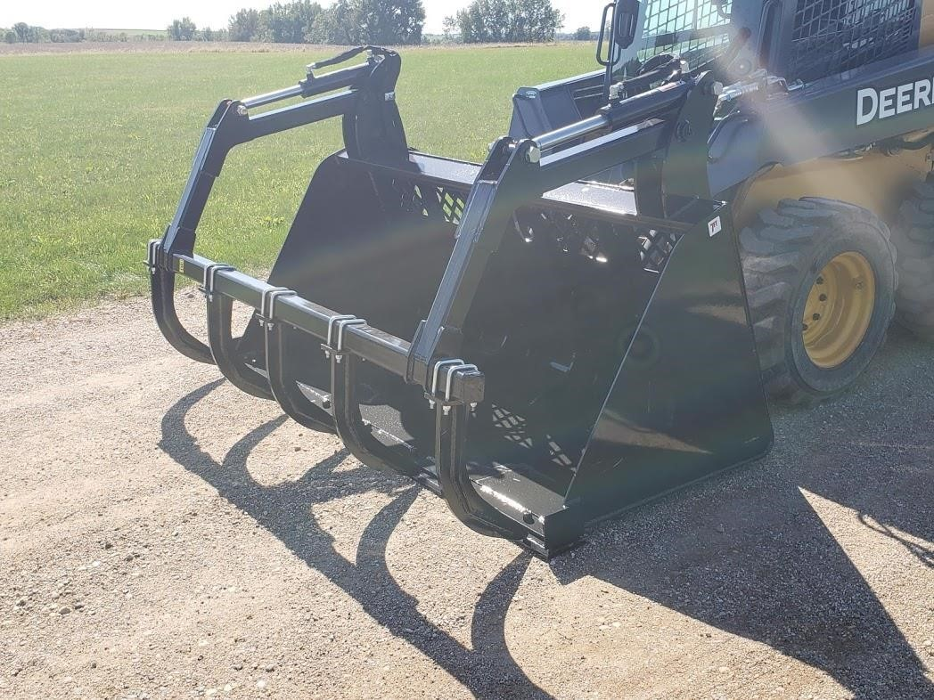 Jenkins 7' HIGH CAPACITY GRAPPLE BUCKET Loader and Skid Steer Attachment