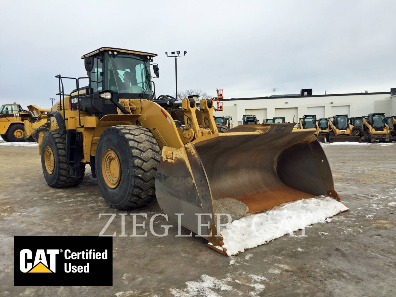 2016 Caterpillar 980M Wheel Loader