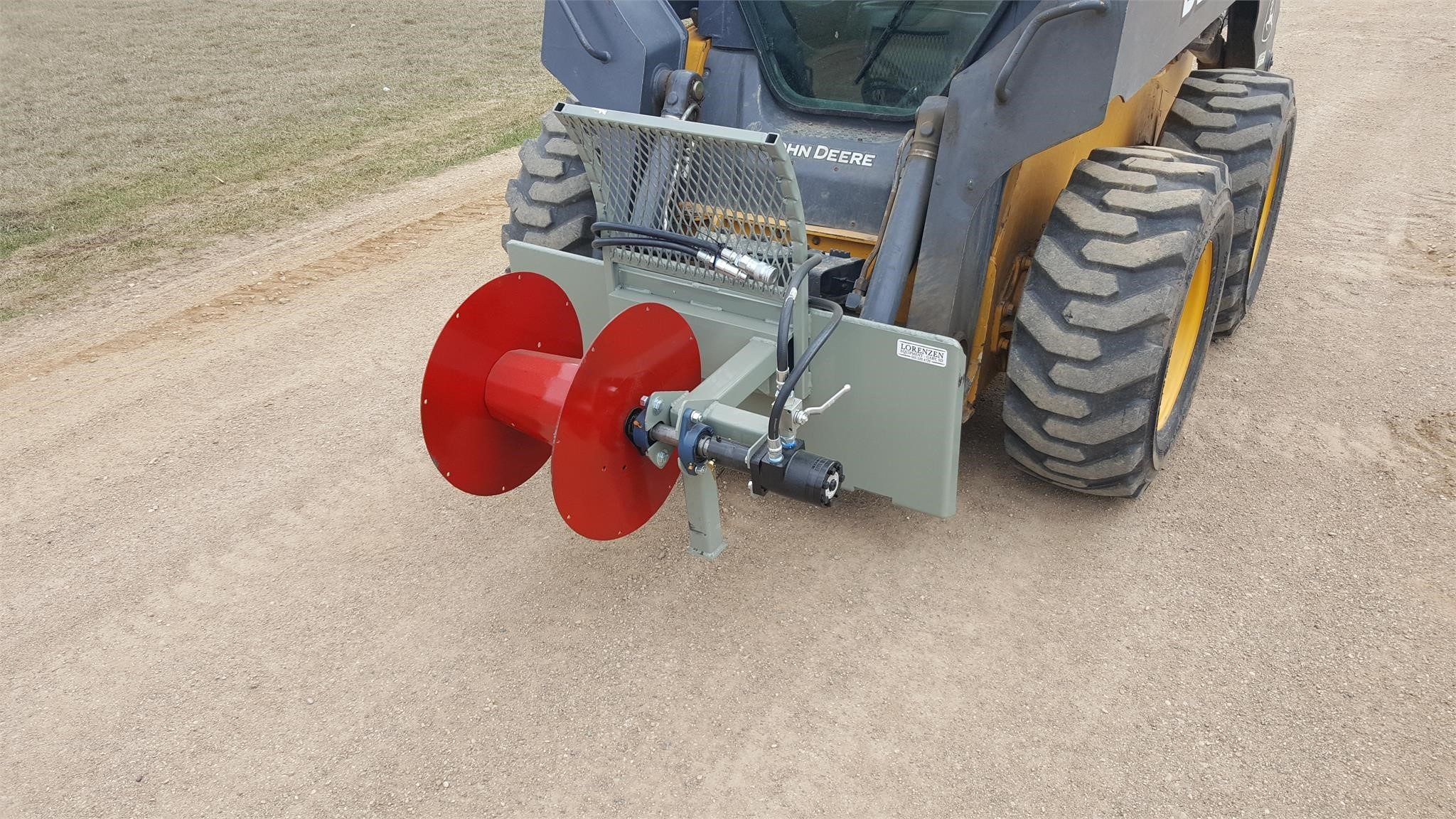 Custom Made WIRE WINDER Loader and Skid Steer Attachment