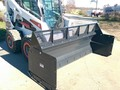 Jenkins 8' HIGH VOLUME SCREEN FOR SNOW PUSHER Loader and Skid Steer Attachment