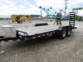 2018 Sure-Trac 7X18 IMPLEMENT Flatbed Trailer