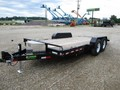 2018 Sure-Trac 7X18 TILTING EQUIPMENT Flatbed Trailer