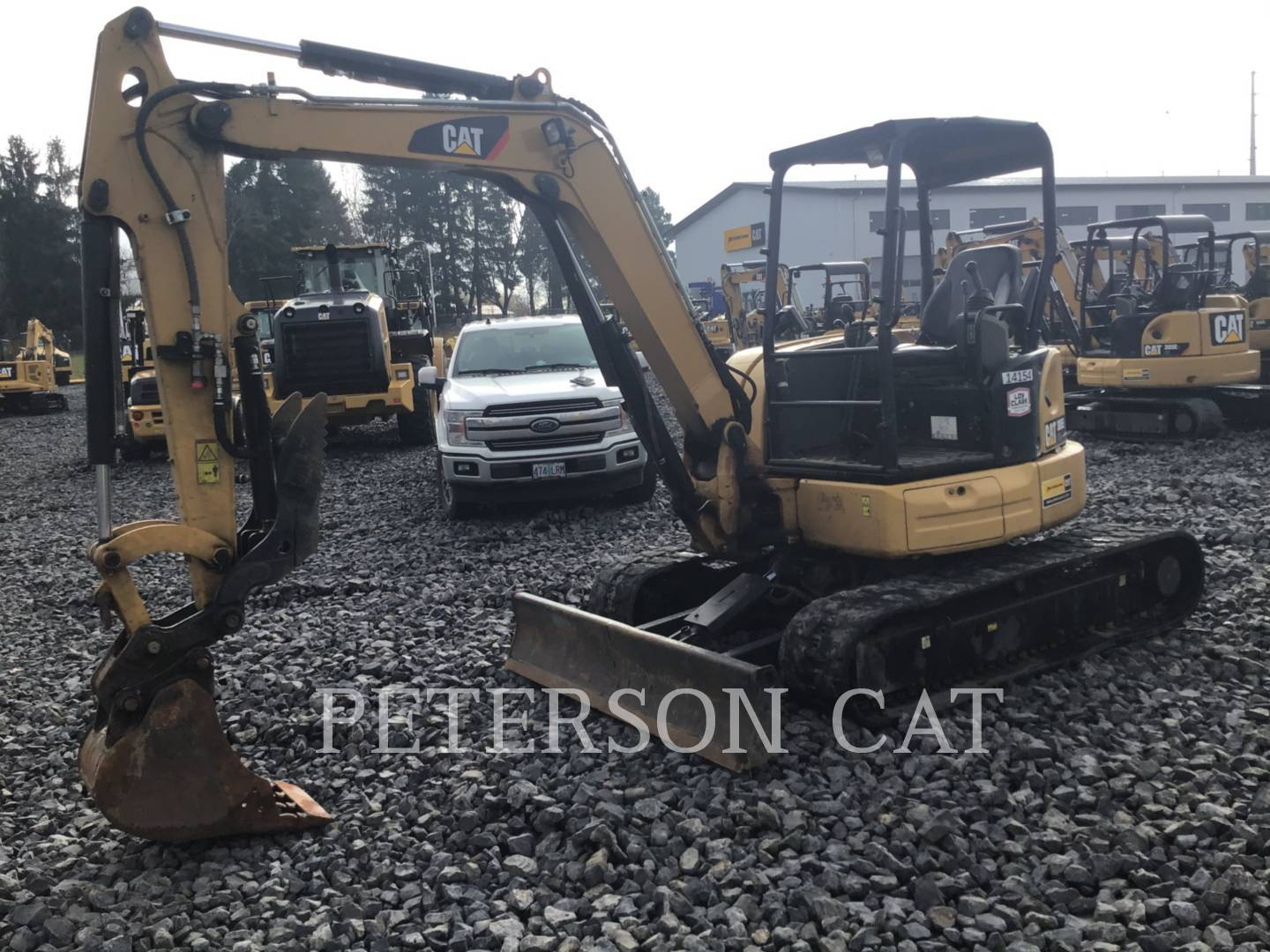 2017 Caterpillar 305E2 Excavators and Mini Excavator