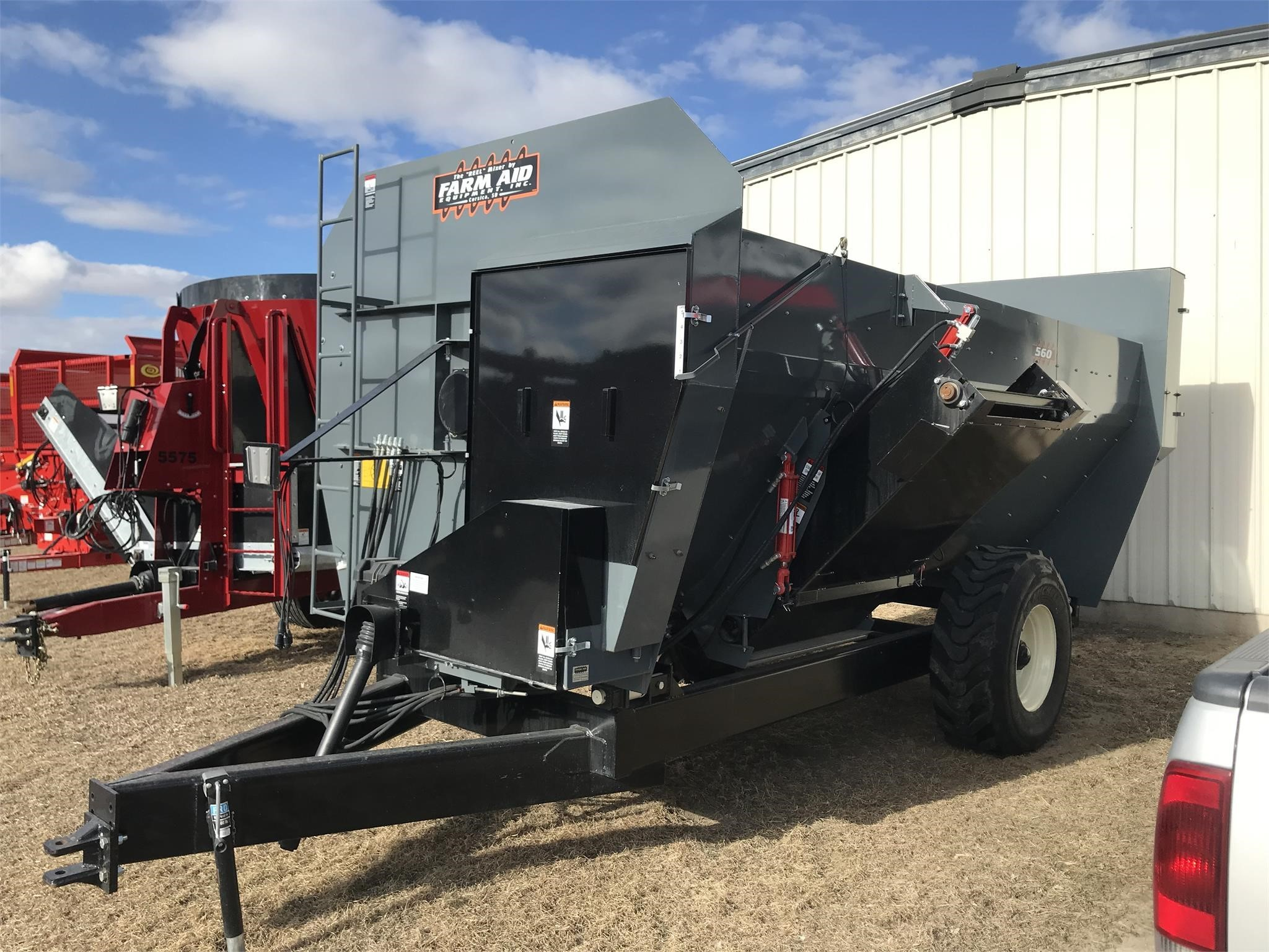 2019 Farm Aid 560 Feed Wagon