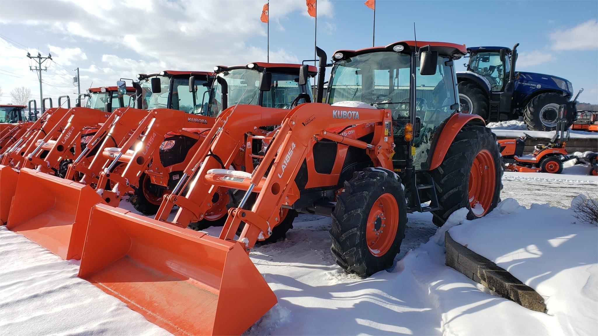 2018 Kubota M5-091 Tractor