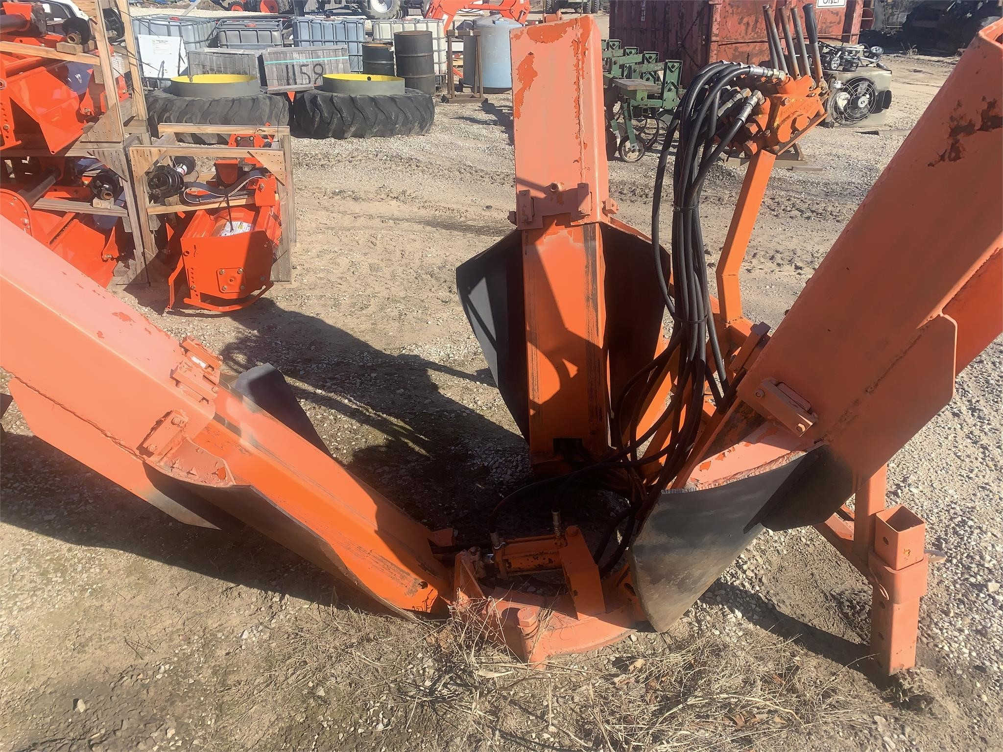 """Ball Cat 34"""" TREE SPADE Loader and Skid Steer Attachment"""