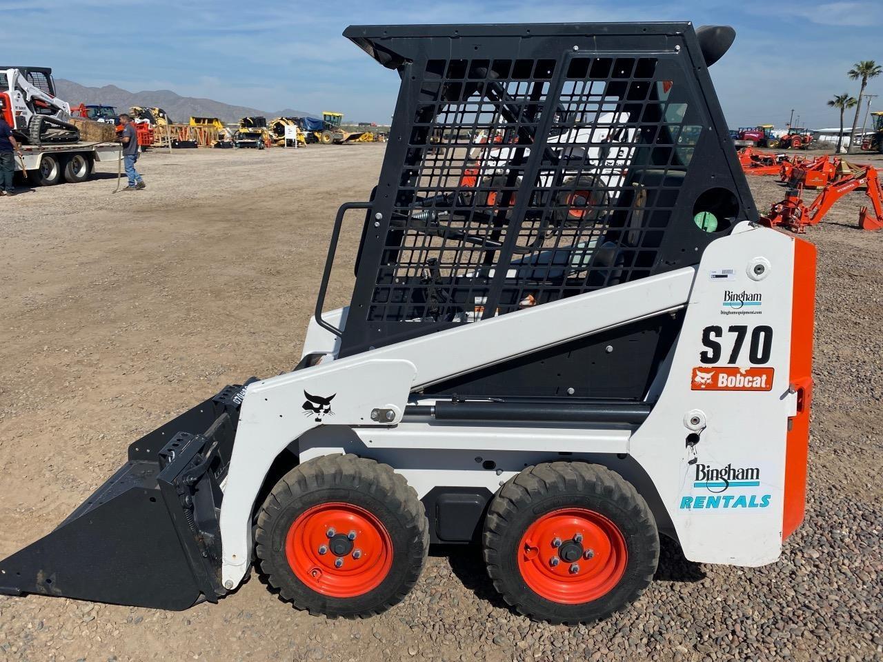 2019 Bobcat S70 Skid Steer