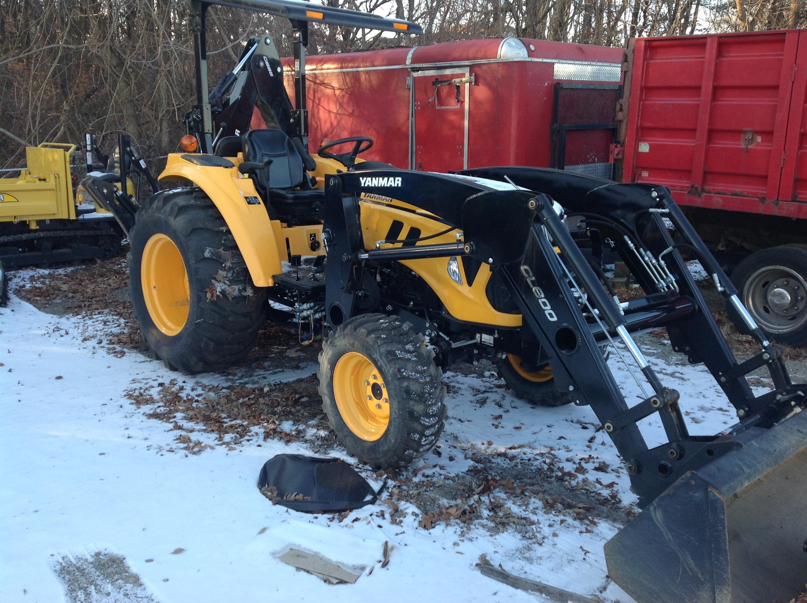 2014 Yanmar Lx4500 Tractor