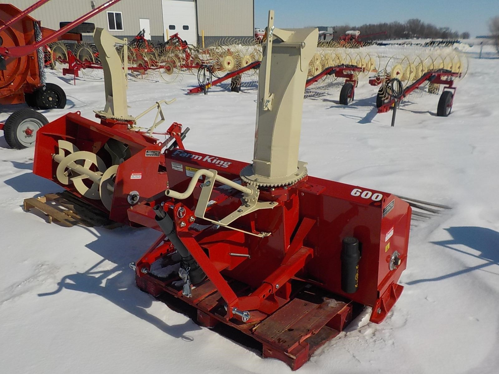 2020 Farm King Y600 Snow Blower