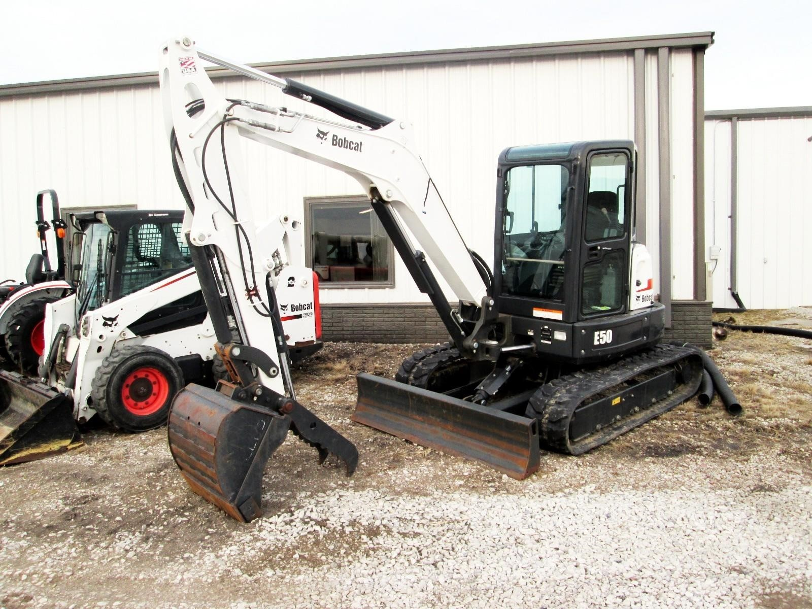 2017 Bobcat E50 Excavators and Mini Excavator