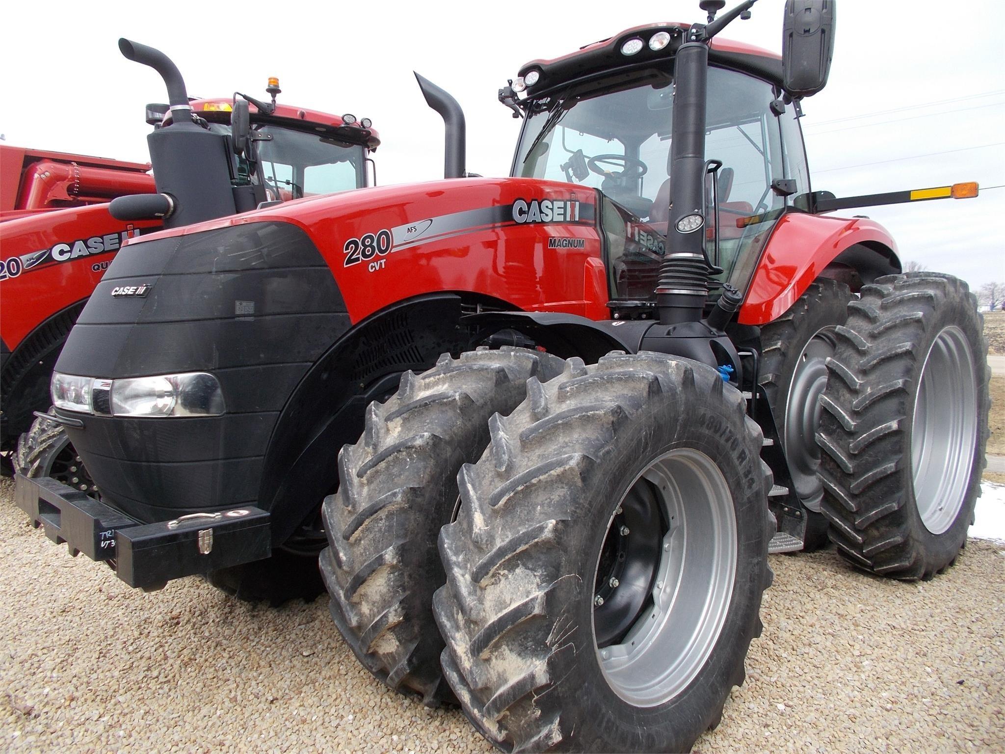 2017 Case IH Magnum 280 CVT Tractor