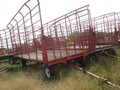 H & S BTR4D Bale Wagons and Trailer