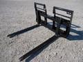 HLA 2000 lb. Pallet Forks, Skidsteer QA Loader and Skid Steer Attachment