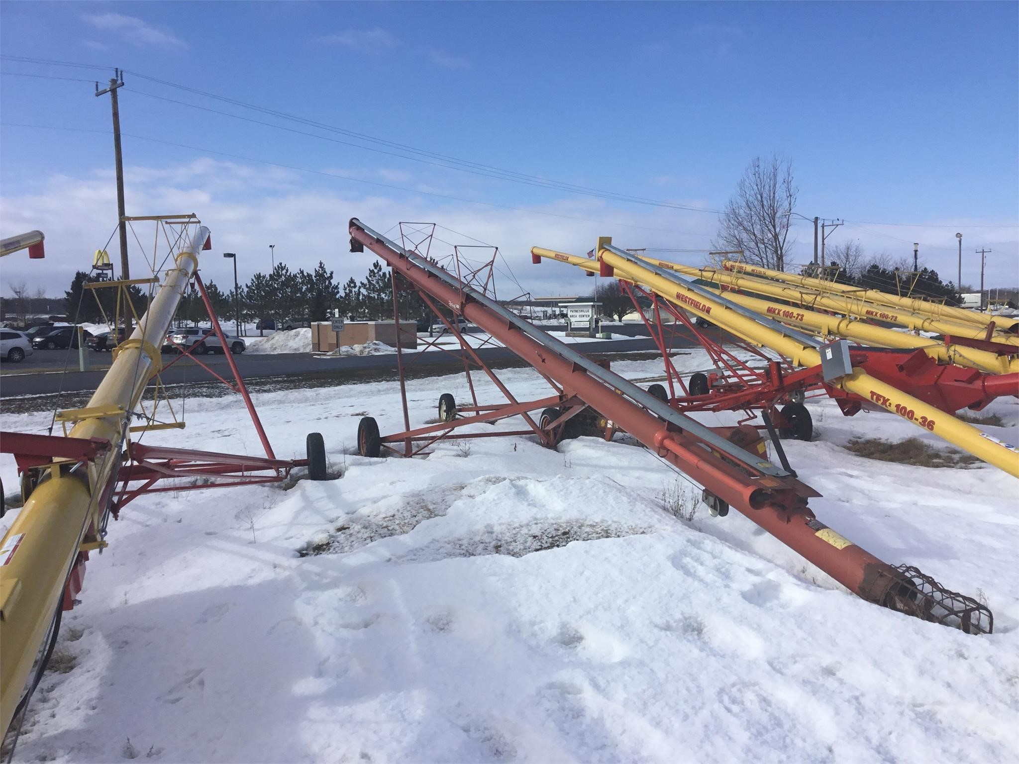 Feterl 8x61 Augers and Conveyor