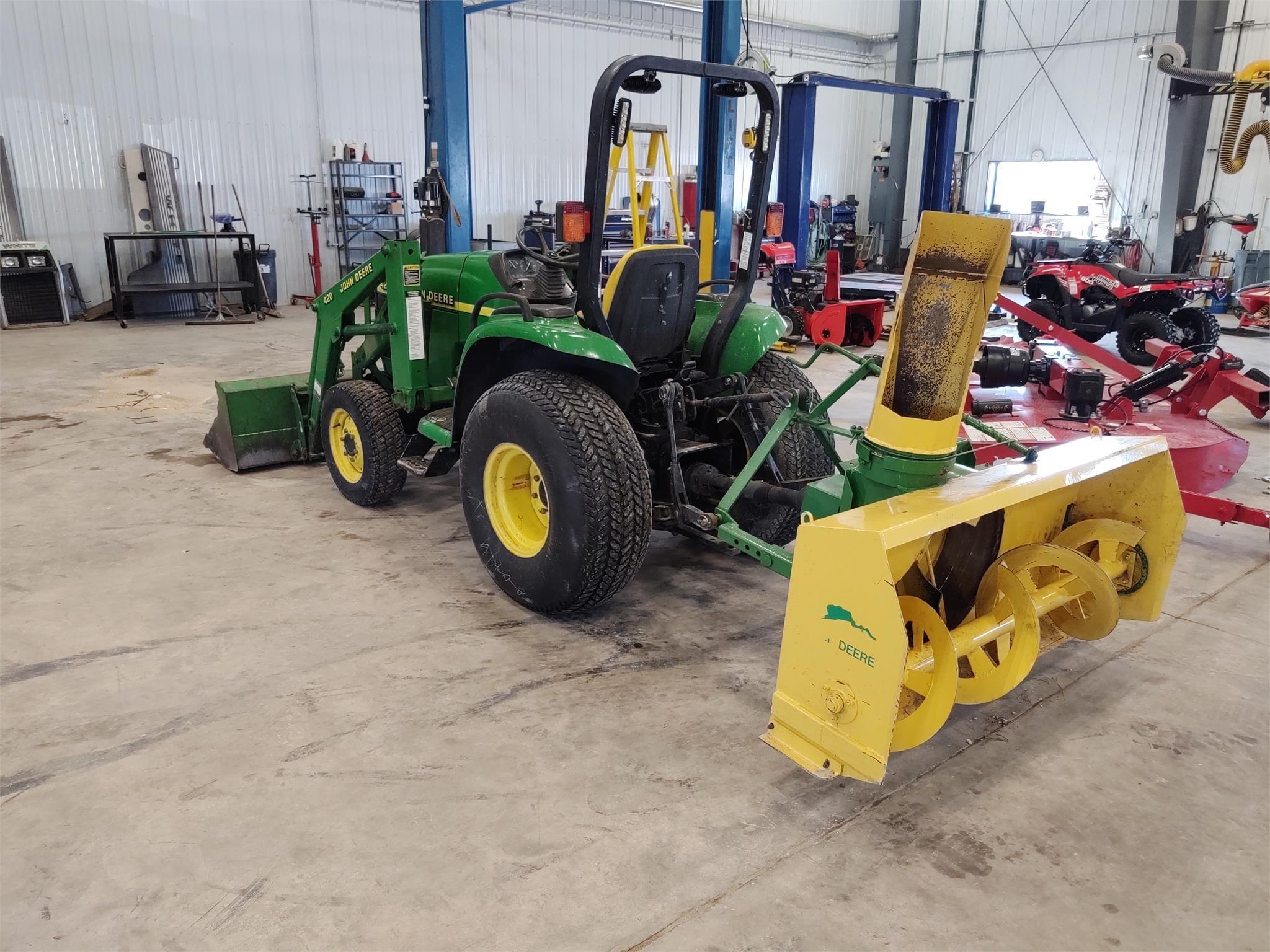 Farm King Y600 Snow Blower