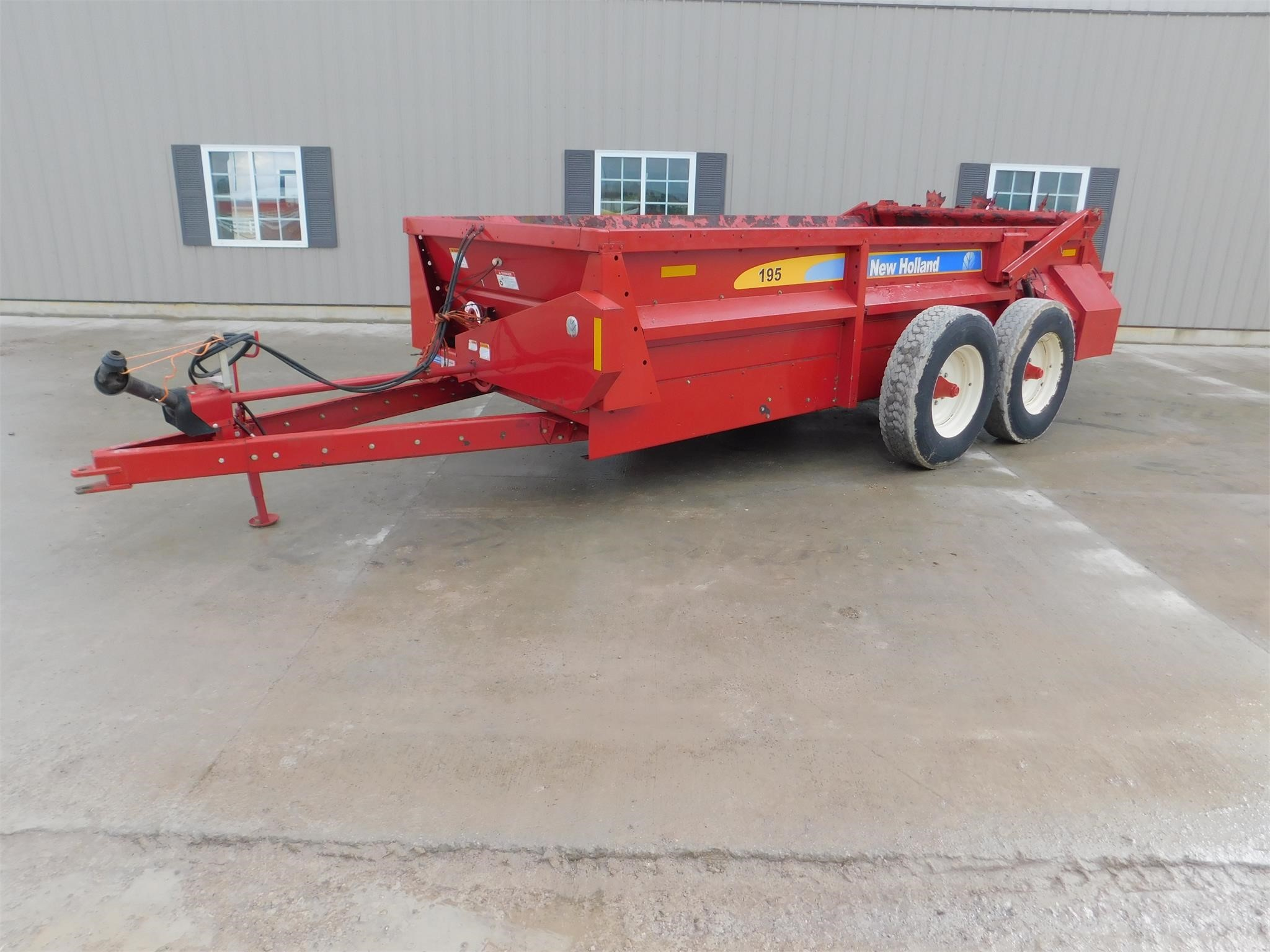 2016 New Holland 195 Manure Spreader