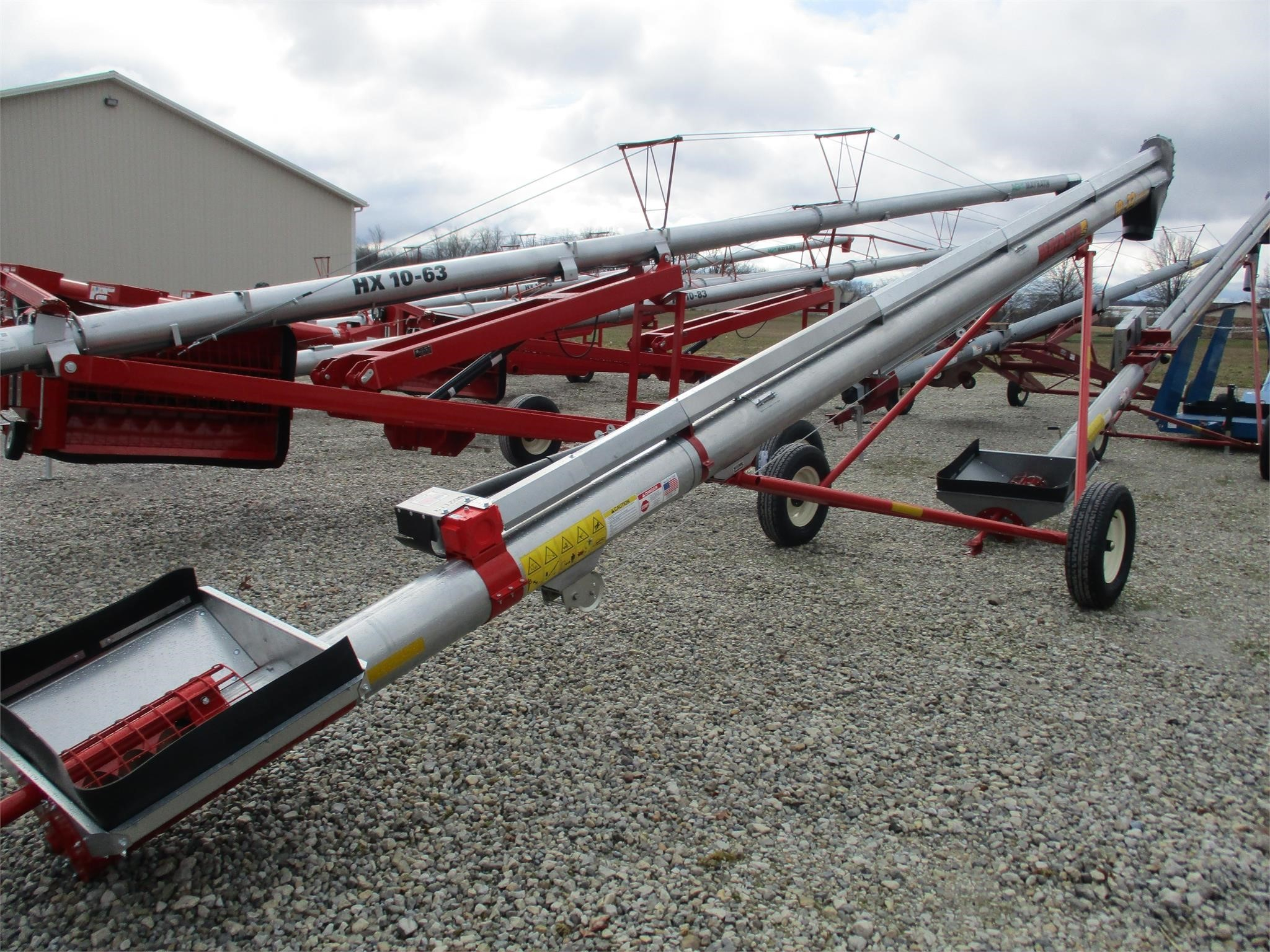 2020 Mayrath 10x32 Augers and Conveyor