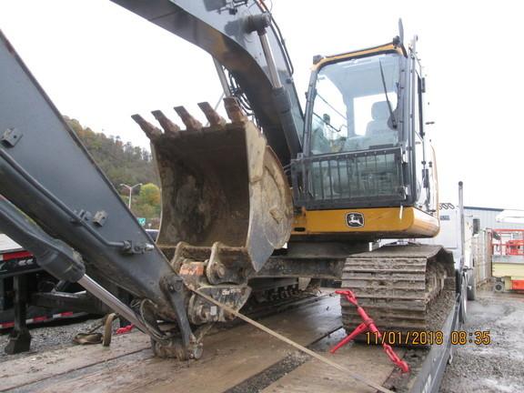2016 Deere 135G Excavators and Mini Excavator