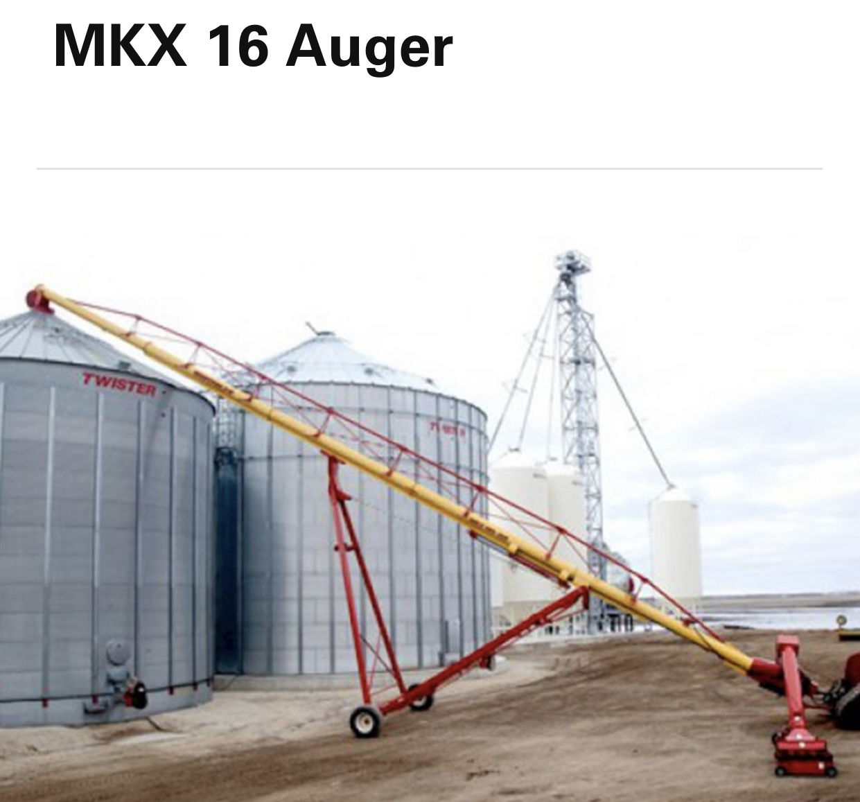 2020 Westfield MKX160-105 Augers and Conveyor