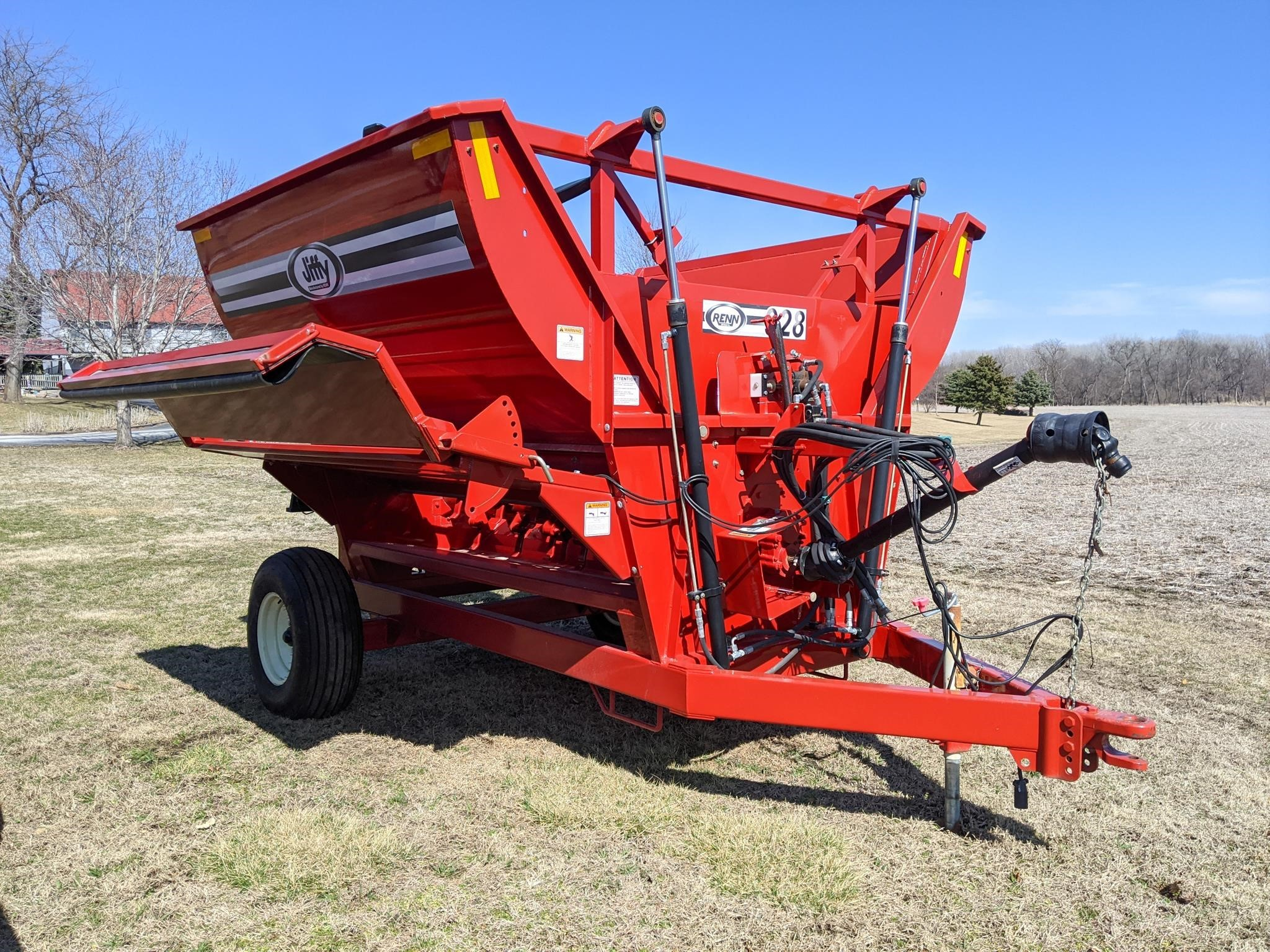 2020 Jiffy 928 Grinders and Mixer
