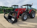 2014 Massey Ferguson 5613 Deluxe Loader and Skid Steer Attachment
