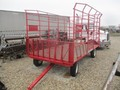2007 E-Z Trail 916 Bale Wagons and Trailer