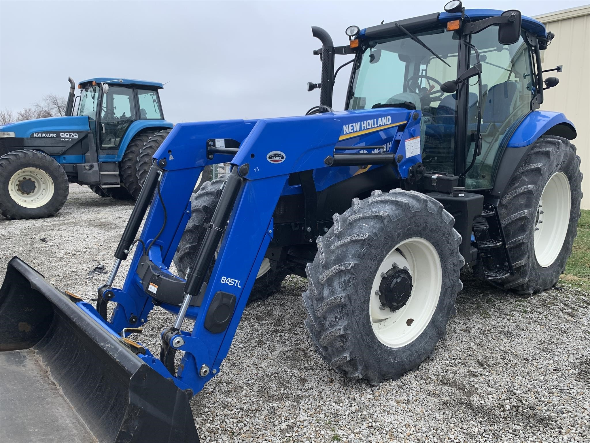2013 New Holland T6.155 Tractor