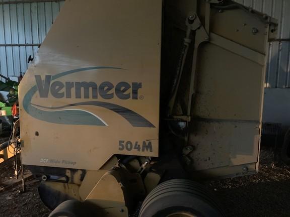 Vermeer 504M Round Baler