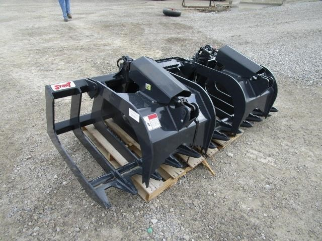 Stout XHD84-6 BRUSH BUCKET Loader and Skid Steer Attachment